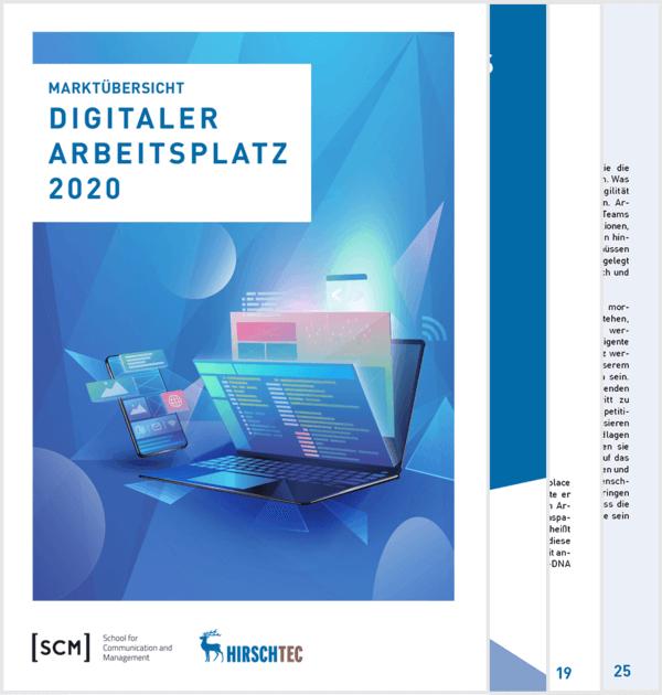 Titelbild-Studie-Digital-Workplace | HIRSCHTEC