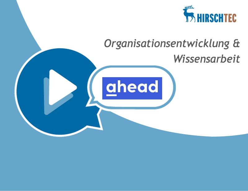 Ankündigung Webinar Organisationsentwicklung ahead | HIRSCHTEC