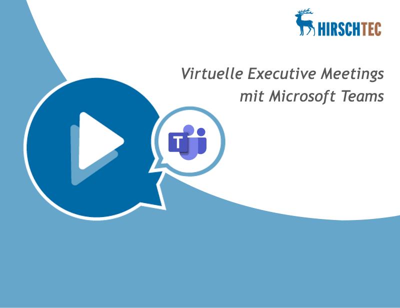 Ankündigung Webinar zu Teams Meetings | HIRSCHTEC